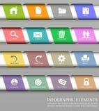 Elemento del diseño de Infographic Fotografía de archivo libre de regalías