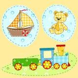 Elemento del diseño de los niños.   Imágenes de archivo libres de regalías