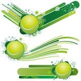 elemento del diseño del tenis Foto de archivo libre de regalías