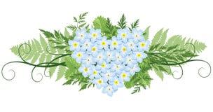 Elemento del diseño floral Imagen de archivo