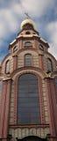 Elemento del edificio de la catedral ortodoxa Fotografía de archivo