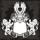 Elemento del emblema Fotos de archivo