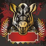 Elemento del emblema Imagenes de archivo