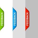 Elemento del feedback stock de ilustración