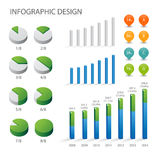 Elemento del gráfico del Info Fotografía de archivo libre de regalías