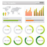Elemento del grafico di Info Immagini Stock Libere da Diritti
