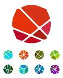 Elemento del logotipo de la burbuja o del caramelo del diseño Imagen de archivo libre de regalías