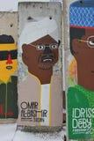 Elemento del muro di Berlino immagine stock libera da diritti