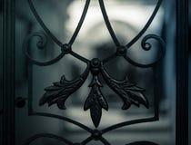 Elemento del ornamento de la puerta Imagen de archivo libre de regalías