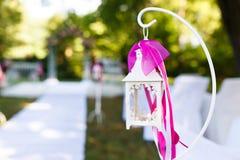 Elemento dell'altare di nozze Immagini Stock