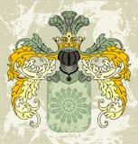 Elemento dell'emblema royalty illustrazione gratis