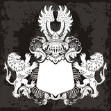 Elemento dell'emblema Fotografie Stock