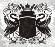 Elemento dell'emblema Fotografia Stock Libera da Diritti