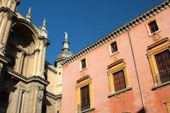Elemento della cattedrale di Granada Fotografia Stock Libera da Diritti