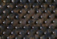 Elemento della decorazione del metallo Fotografie Stock Libere da Diritti
