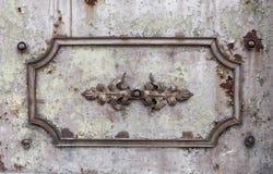 Elemento della decorazione del metallo Fotografia Stock Libera da Diritti