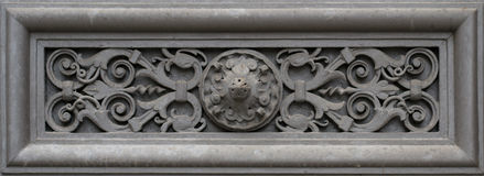 Elemento della decorazione (ornamento della parete) Fotografie Stock Libere da Diritti