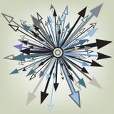 Elemento della freccia Fotografie Stock