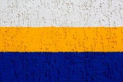 Elemento della parete con un gesso di sollievo Fotografie Stock Libere da Diritti
