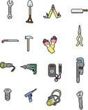 Elemento dello strumento di Doodle Immagini Stock
