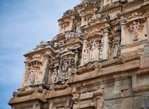 Elemento di architettura antica, Hampi Fotografie Stock