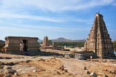 Elemento di architettura antica, Hampi Fotografia Stock Libera da Diritti