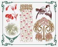 Elemento di Arte-nouveau royalty illustrazione gratis