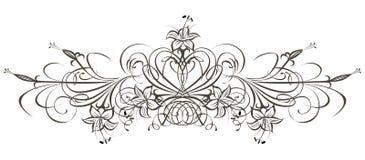 Elemento di disegno. Immagini Stock