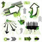 elemento di disegno della freccia illustrazione di stock