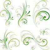 Elemento di disegno della natura illustrazione vettoriale