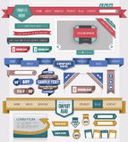 Elemento di disegno di Web Fotografie Stock