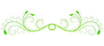 Elemento di disegno floreale Fotografie Stock