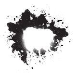 Elemento di Grunge della vernice dello Splatter Fotografia Stock