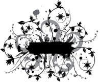 Elemento di Grunge per il disegno, vettore Fotografia Stock Libera da Diritti