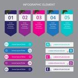 Elemento di Infographic illustrazione di stock