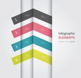 Elemento di Infographic con le opzioni Immagini Stock