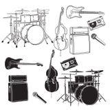 Elemento di musica Fotografia Stock