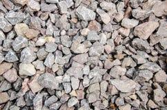 Elemento di progettazione del confine della roccia Fotografie Stock