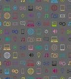Elemento di progettazione del modello delle icone Illustrazione Vettoriale