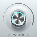 Elemento di progettazione del volume del bottone Illustrazione Vettoriale