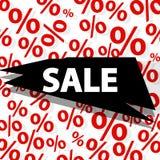 Elemento di progettazione dell'insegna di vendita Illustrazione di Stock