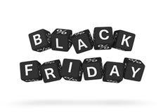 Elemento di progettazione di Black Friday Fotografia Stock Libera da Diritti