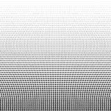 Elemento di semitono astratto nero di progettazione, vettore Fotografia Stock Libera da Diritti