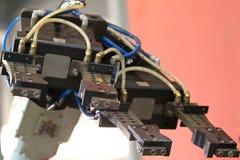 Elemento di un robot industriale Fotografia Stock Libera da Diritti