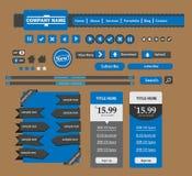 Elemento di web design Fotografie Stock