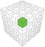 Elemento diferente Imagem de Stock
