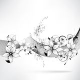 Elemento do design floral do vetor Foto de Stock