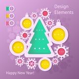 Elemento do design web. Foto de Stock