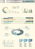 elemento do Informação-gráfico Foto de Stock Royalty Free