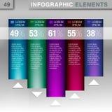 elemento do Informação-gráfico Imagens de Stock Royalty Free